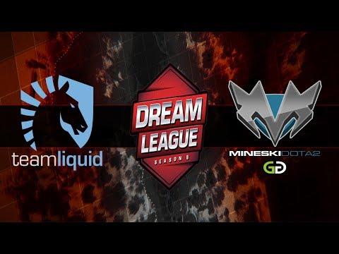 Liquid vs Mineski - StarLadder i-League Invitational #3 - Dota 2 Live Streams
