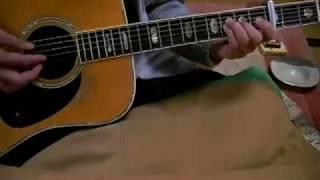 素人のギター弾き語り 赤い花白い花 赤い鳥 1970年 Akaihana Shiroihana...
