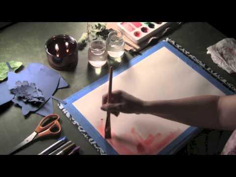 Heliograph Leaf Print