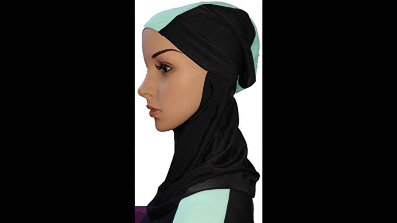 5dce8c17283bd YEESAM Muslim Swimsuit Islamic Full Cover Modest Swimwear Beachwear Burkini  XXL Detachable Hijab