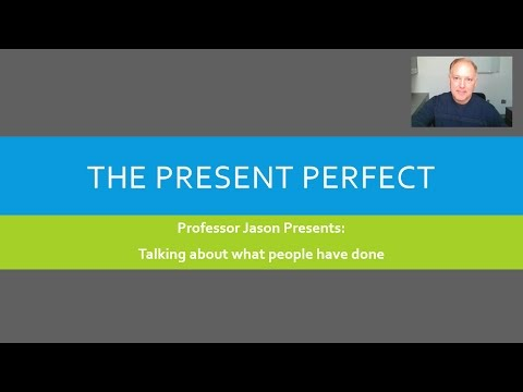 The Present Perfect in American English: A Guide for Speakers of Portuguese