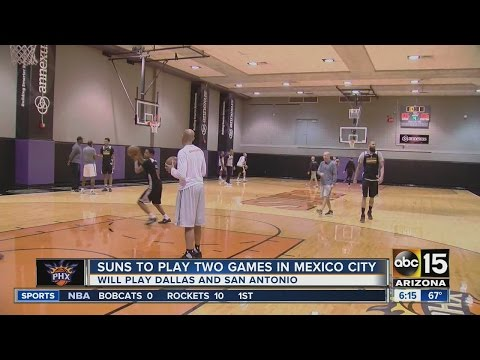 Phoenix Suns ready to play two games in Mexico City