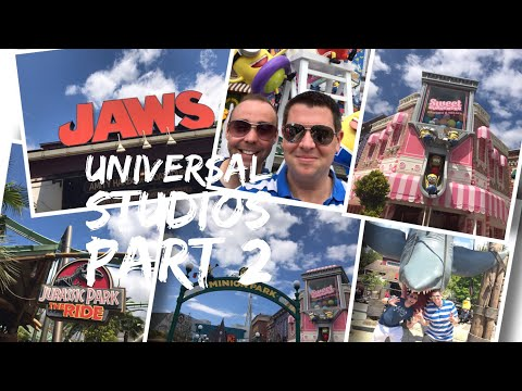 Japan Vlog - May 2017 - Day 9 - Part 2 - Universal Studios, Minion Park, Jurassic Park and Jaws