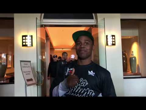 Adrien Broner REACTION to a video 50 cent posted about him - esnews