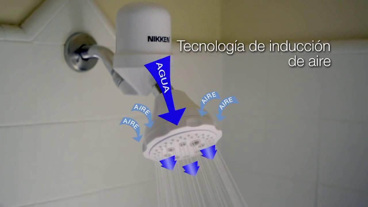 Filtro purificador de agua para ducha y regadera para for Regadera para ducha