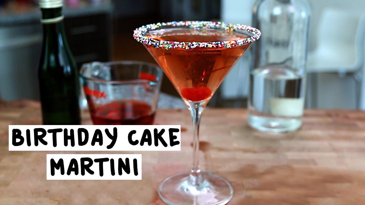 Birthday Cake Martini 2 Tipsy Bartender