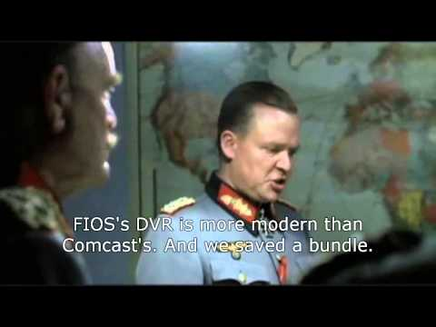 Hitler wants to stream Breaking Bad on Netflix, but FIOS is down.