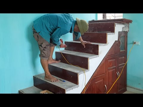 Woodworking Ideas – Find out how to Construct Wooden Stairs over Concrete Steps