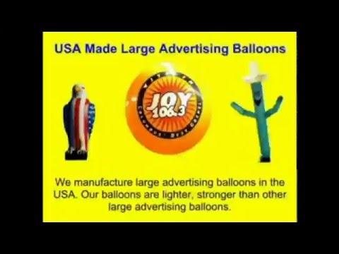 Illinois Advertising Balloons