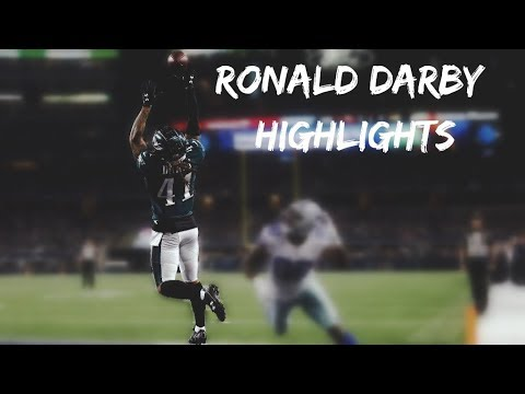 Ronald Darby 2017 Eagles Highlights | ᴴᴰ