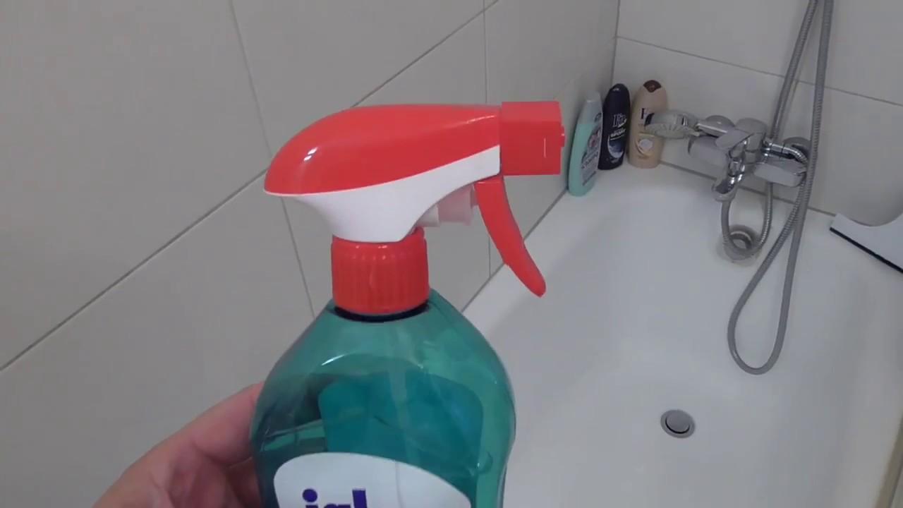 Genialer Trick: Duschkabine reinigen mit Klarspüler - Dusche im Bad mühelos  sauber machen