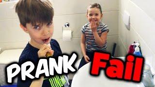 PRANK FAIL - 1. April geht schief 😂 FAMILY VLOG mit Lulu und Leon