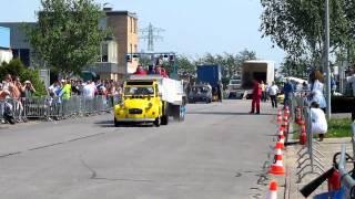 Carpulling Klaaswaal 2011 Poison Ducky 1ste manche autotrek