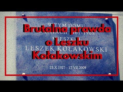 "Leszek Żebrowski – Leszek Kołakowski ""filozof"", ""myśliciel"", ""legenda"""