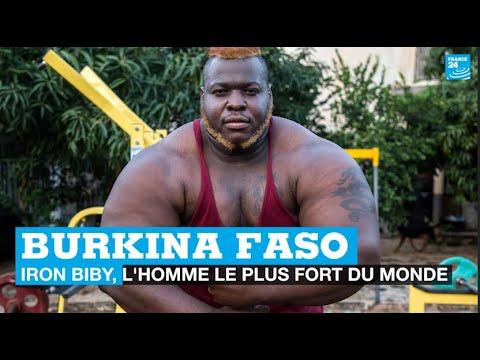"""Download Burkina Faso : """"Iron Biby"""", l'homme le plus fort du monde • FRANCE 24"""