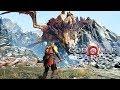 God of War - Part 8 - FIGHTING A DRAGON! (Let