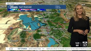 Friday night weather forecast (Oct. 15) screenshot 5