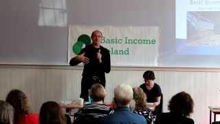 Enno Schmidt Keynote Speech @ Basic Income Ireland Summer Forum 2015