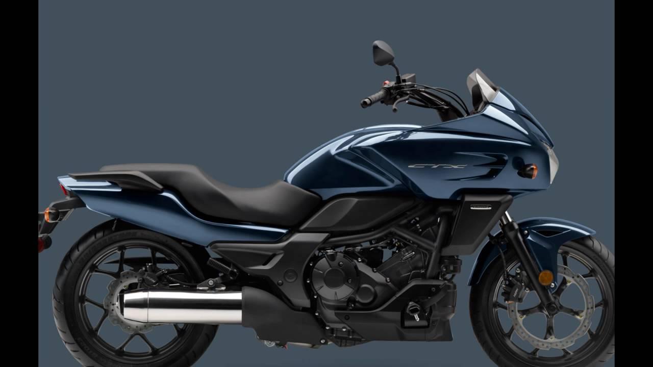2016 Honda Ctx700 Gray Blue Metallic