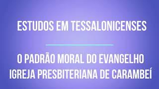 O PADRÃO MORAL DO EVANGELHO