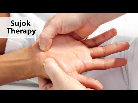 Sujok therapy - relieve back pain