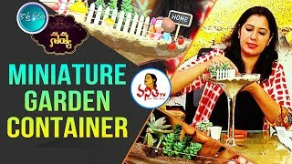 How to Make a #MiniatureGarden at Home? | Kothadanam | Navya | #Van...