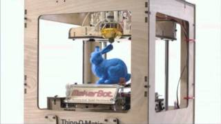 Print Real Objects With The MakerBot Thing-O-Matic 3D Printer