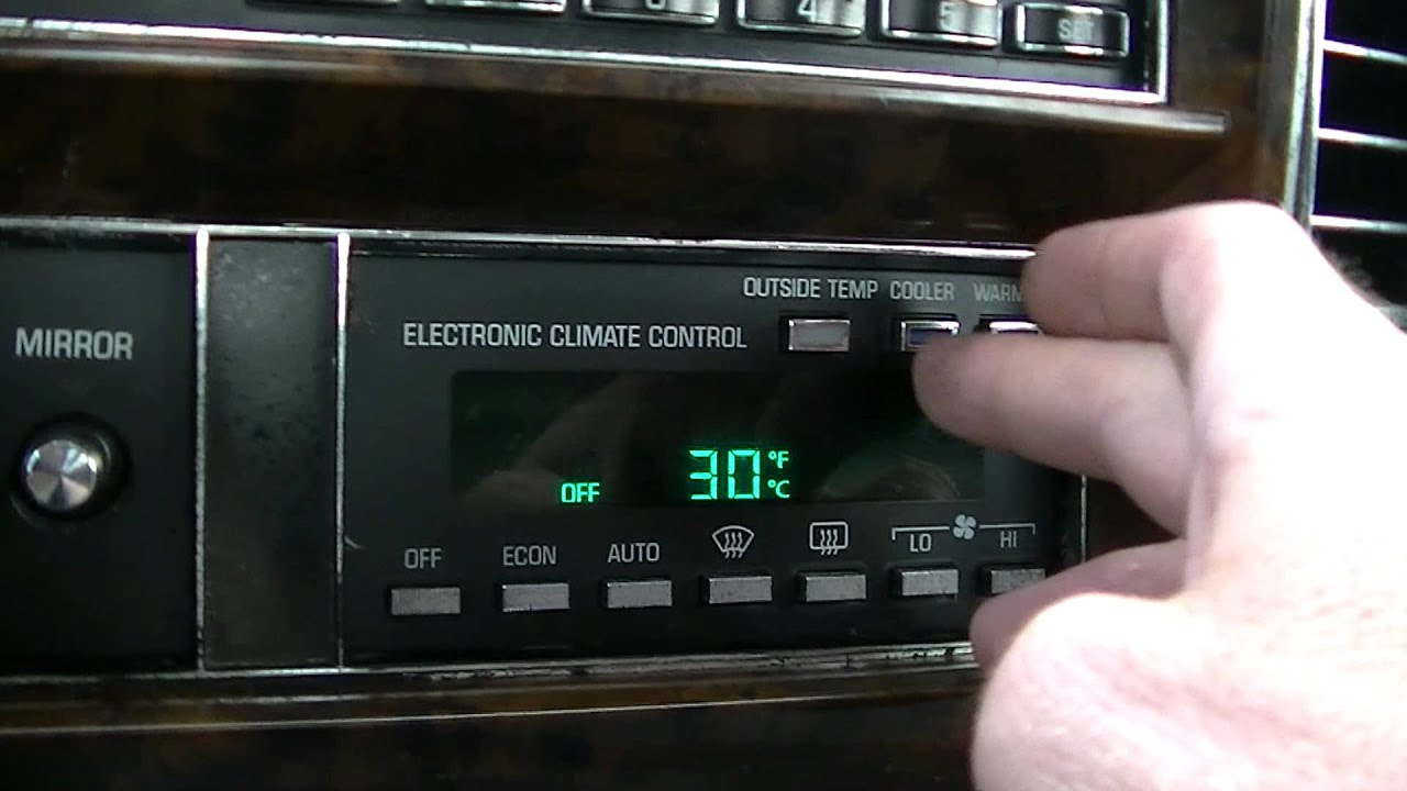 1990 Cadillac Brougham Diagnostics - YouTube