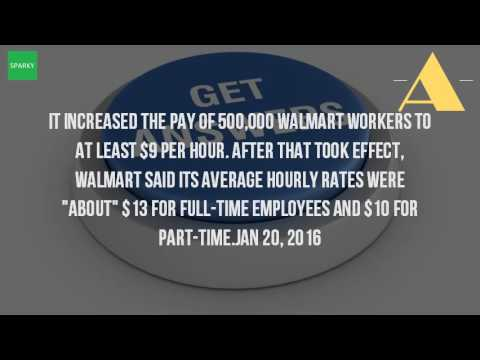 How Much Do They Pay At Walmart?