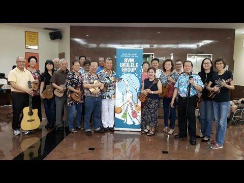 BVM Ukulele Group's Re visited Lentor Residence- 19th November 2016