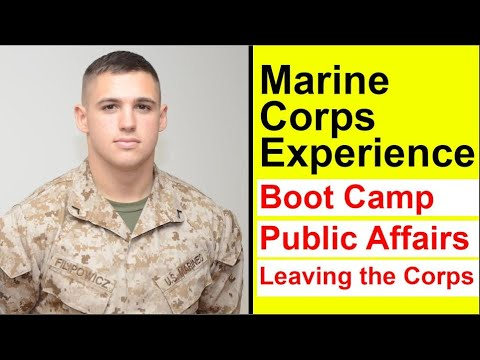 Boot Camp, Public Affairs MOS, and my Military Career