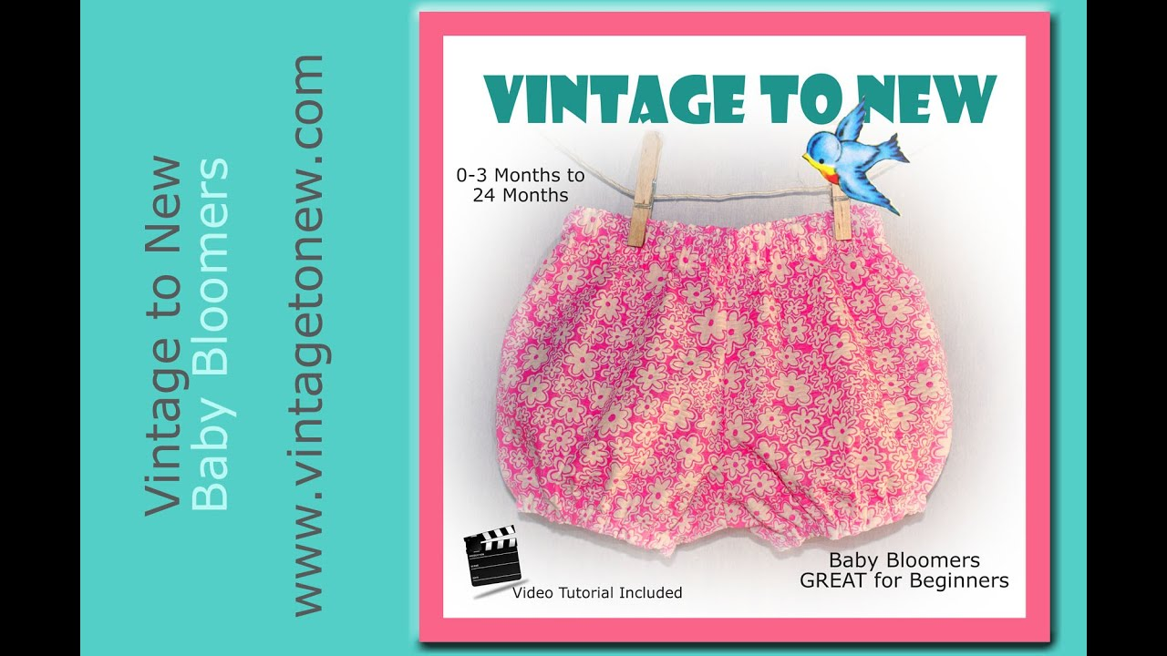 Tutorial Diaper Cover Baby Bloomers Bubble Bum Youtube