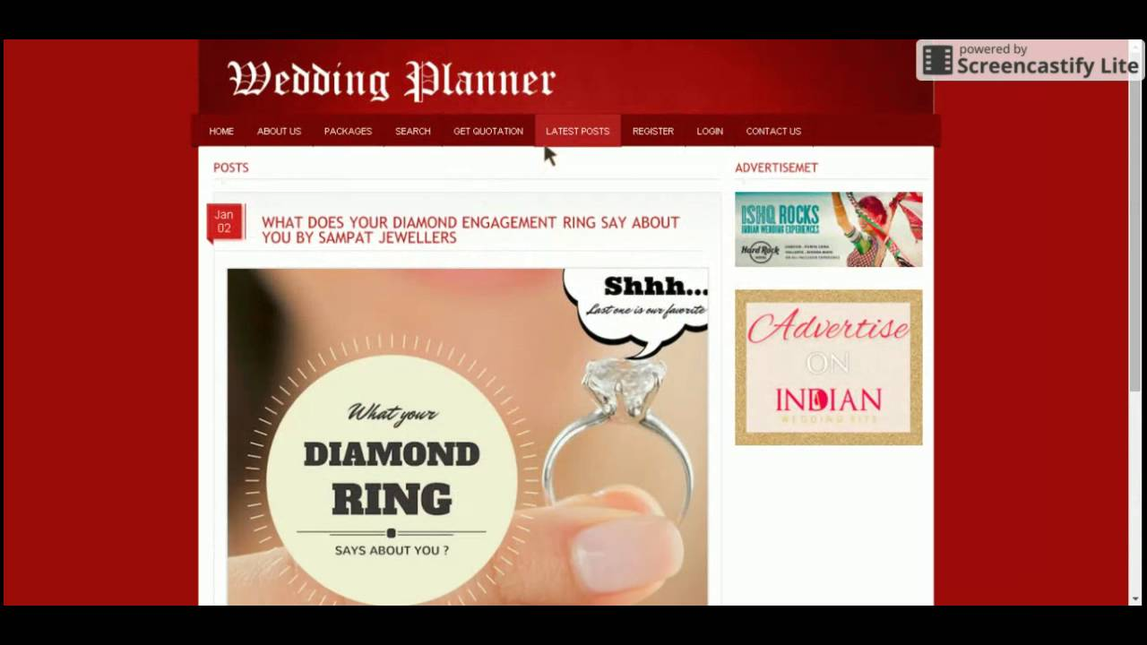 PHP and MySQL Project on Online Wedding Planner YouTube
