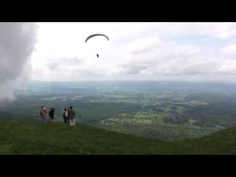 Puy de Dôme - Paragliding
