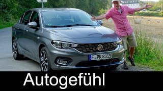 Fiat Tipo FULL REVIEW test driven all-new neu compact sedan Limousine 2017