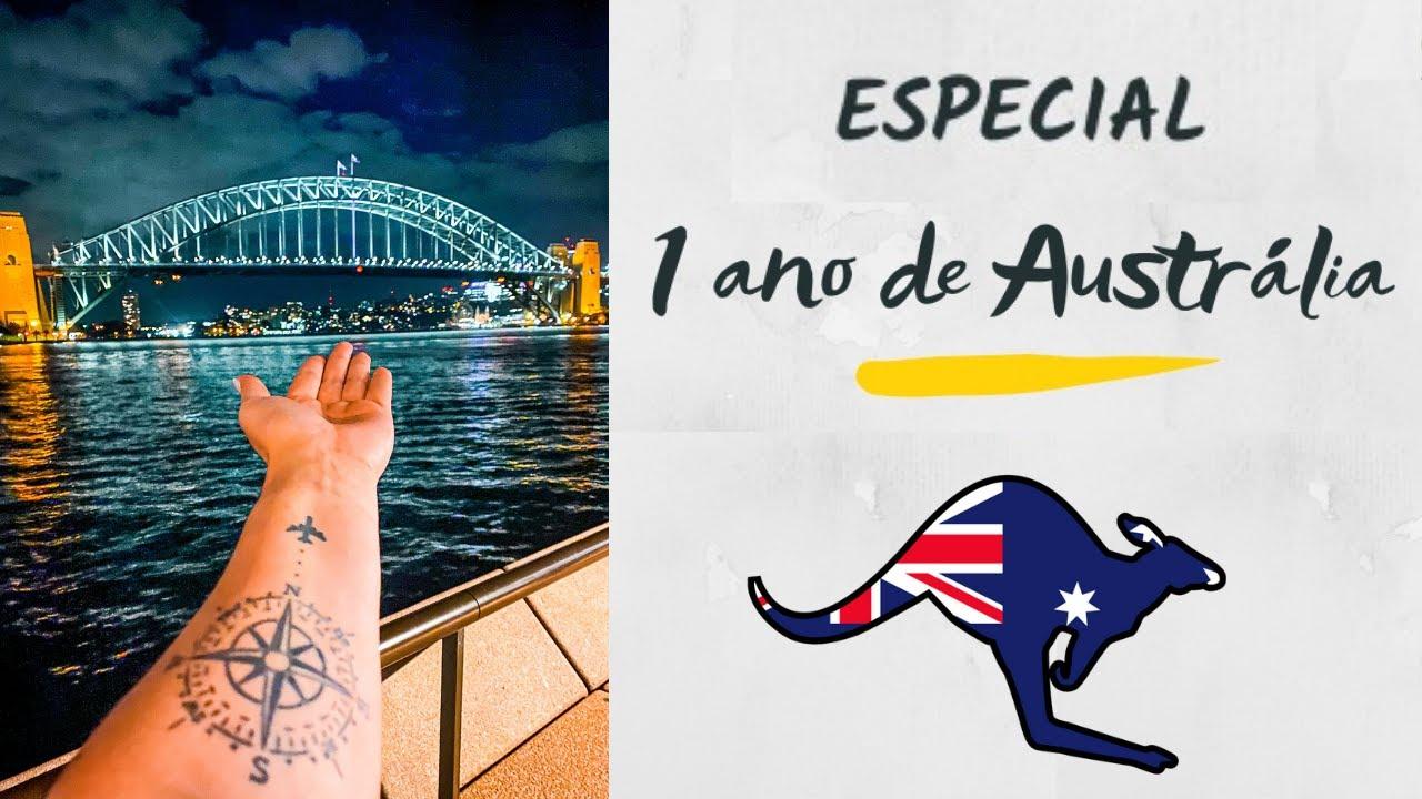 ESPECIAL 1 ANO DE AUSTRÁLIA - DUVIDO VOCÊ NÃO SE EMOCIONAR