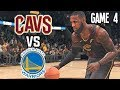 Golden State Warriors vs Cleveland Cavaliers GAME 4 HYPE 2018 NBA FINALS - NBA LIVE 18