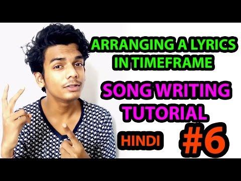 How to arrange a lyrics in TimeFrame | Using Metronome | Song Writing Tutorial In Hindi