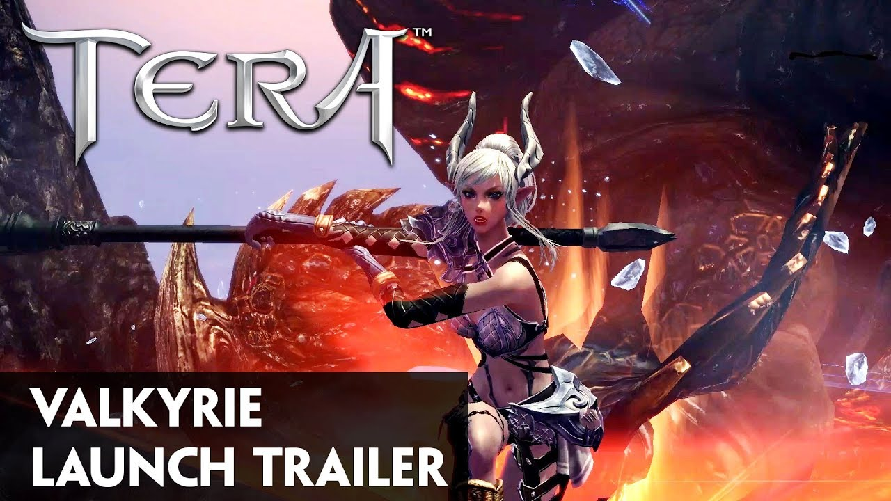 Best Pvp Class Tera 2020 TERA: Valkyrie Class Console Launch Trailer   YouTube