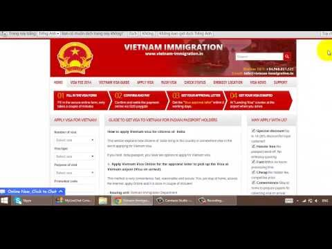 How to get Vietnam Visa on arrival for Indian citizens