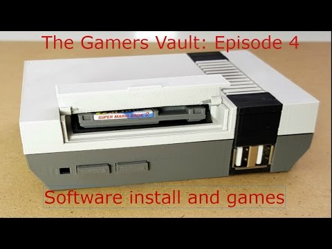 The Gamers Vault: Episode 4 Software and Games Final build Video