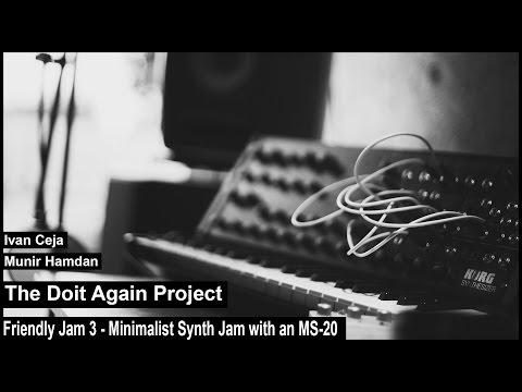 Jam 3 - Minimalist Synth Jam Korg MS-20 Mini, Waldorf Nave, Fab Filter Twin 2