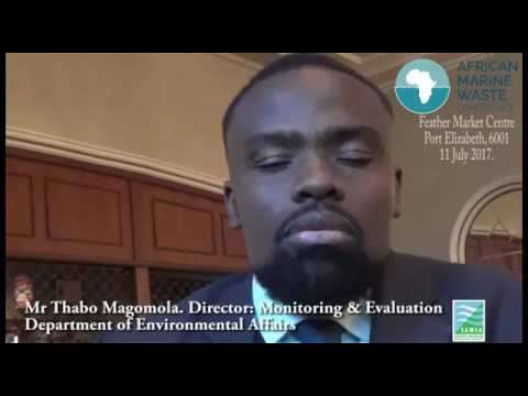 Thabo Magomola - Abstract Overview for the African Marine Waste Conference