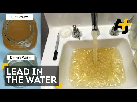 Lead In The Water In Flint, Michigan