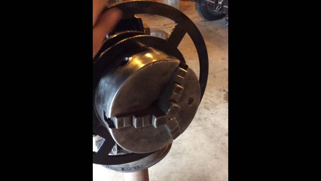 Roll out Wheel / welding positiner vulcanfabandmachine ...
