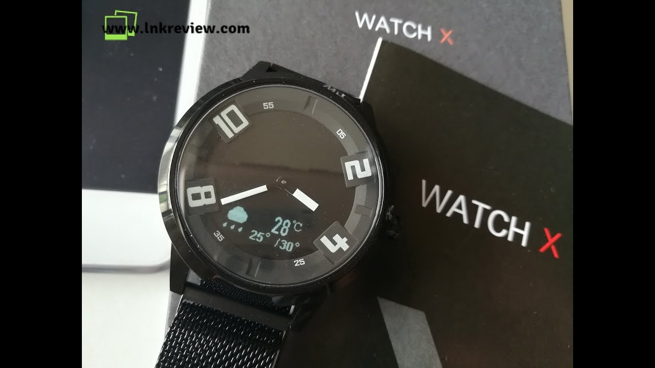 Review Lenovo Watch X Unboxing Smart Watch Youtube