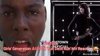 First time reactin Girls' Generation 소녀시대 'Run Devil Run' MV…
