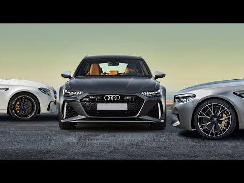 Новый AUDI RS6 c8 против BMW M5 F90 и Mercedes AMG E63S