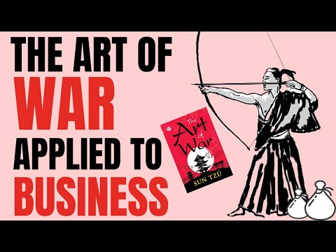 THE ART OF WAR APPLIED TO BUSINESS by SUN TZU | ANIMATED BOOK REVIEW