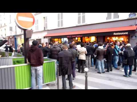 L'OM - Rennes at Au Metro, Paris